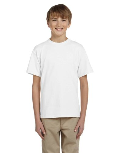 Fruit of the Loom Boys 5 oz.Heavy Cotton HD T-Shirt 3931B 3 PACK All Sizes