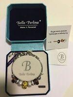 Bella Perlina Charm Bead Bracelet