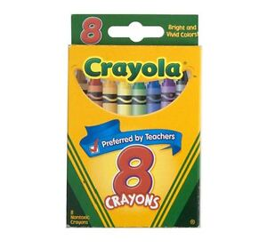 Crayola Crayons 8 ea (Pack of 3)