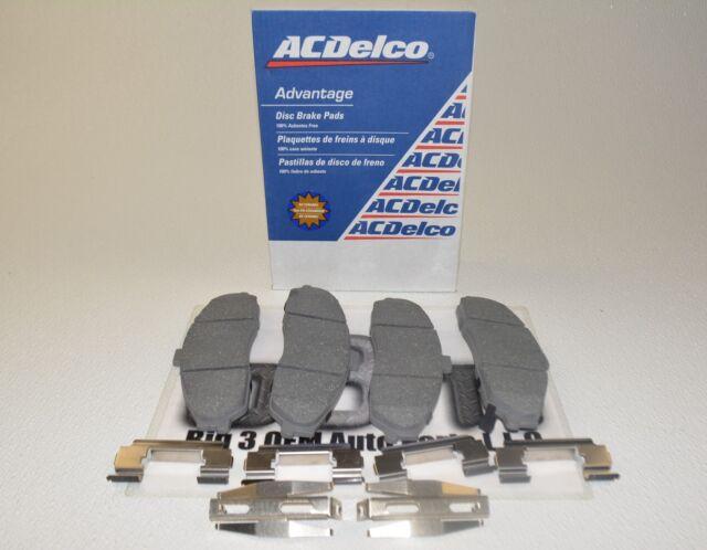 Disc Brake Pad Set-Ceramic Front ACDelco Pro Brakes 17D1421CH