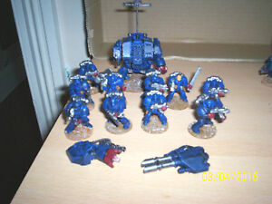 GAMES-WORKSHOP-DREADNAUGHT-10-MAN-SQUAD-MADE-amp-PAINTED-AS-CRIMSON-FISTS-2