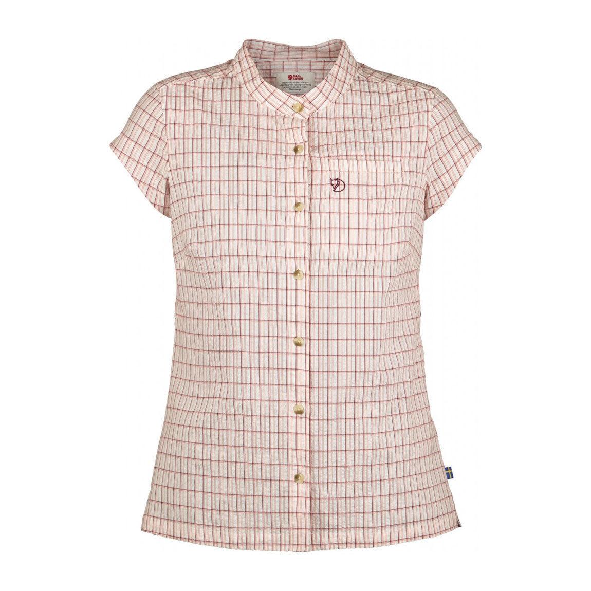 Fjallraven Ovik Seersucker Camisa para mujer-sin Uso vendedor de muestra