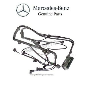 mercedes w140 500sl r129 sl500 engine cable wiring harness fuel rh ebay com mercedes sl 500 wiring harness 1995 mercedes sl500 wiring harness