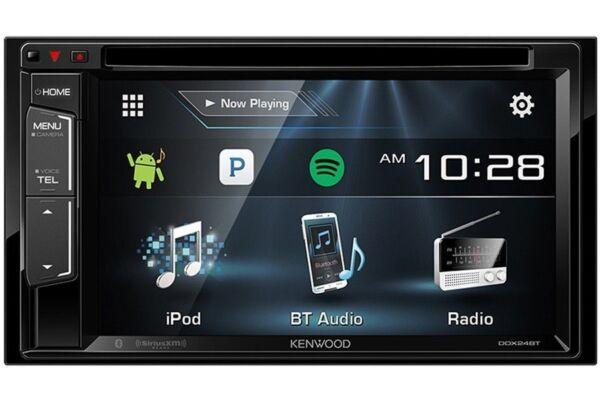 kenwood ddx24bt 6 2 2 din dvd receiver with bluetooth ebay. Black Bedroom Furniture Sets. Home Design Ideas