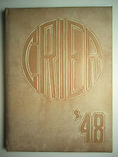 1948 CRIER - Boardman Ohio High School Yearbook - OH