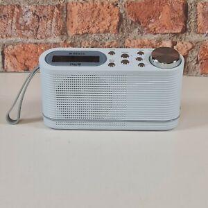 ROBERTS Radio Play 10 Play 10 DAB digitale con sintonizzatore FM BIANCO
