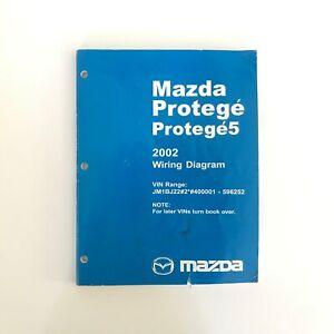 2002 Mazda Protege 5 Factory OEM Wiring Diagram Workshop ...