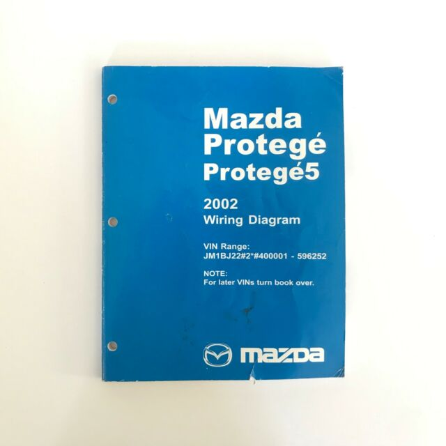 2002 Mazda Protege 5 Factory Oem Wiring Diagram Workshop