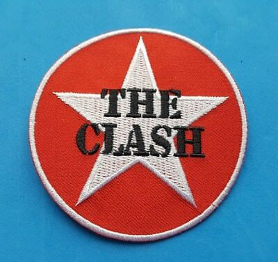 The Clash Sew or Iron On Patch