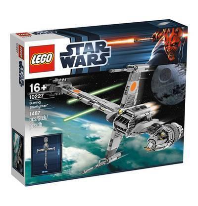 Lego Star Wars 10227 B-Wing Starfighter nuevo y en su embalaje original