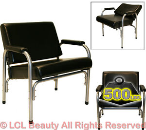 Image Is Loading Extra Wide Auto Recline Shampoo Chair Styling Hair