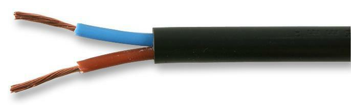 Cable/wire - Multicored - CABLE FLEX 3182Y BLACK 1MM 50M