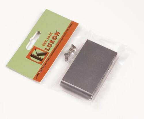 KVSB LH Genuine Kluson Milled Steel Lefty Vintage Strat Sustain Tremolo Block