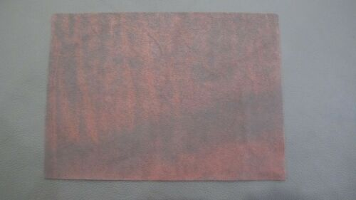 1 Large piece Antique Oxblood leather crafts  patchwork Bagmaking 1mm