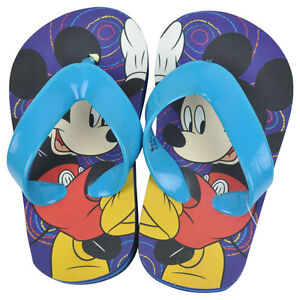 4618edbdd626 Disney Mickey Mouse Kick Mick Swirl Toddler Boys Flip Flop Thong ...