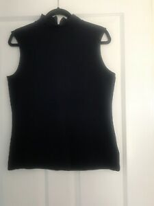 Next-Smart-navy-blue-Vest-Sleeveless-Top-Size-14
