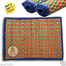 Kusha Asan / Durva Mat For Pooja, Rituals and Meditations Sacred Hand Made 17x23