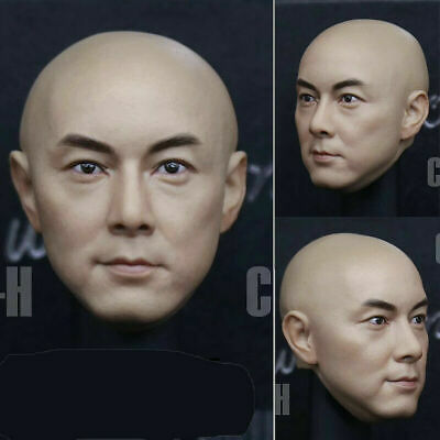 CHINA.X-H 1//6 Zhang Weijian Head Carving Fit 12/'/' Male Action Figure Body Model