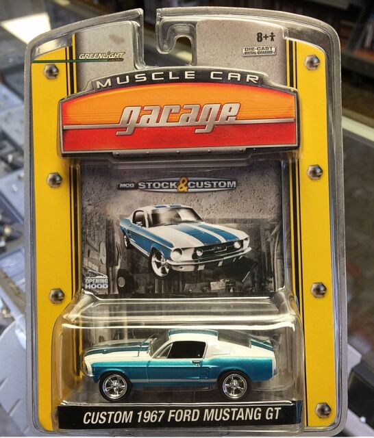 Greenlight 1 64 Diecast Muscle Car Garage 1967 Ford Mustang Gt Ebay