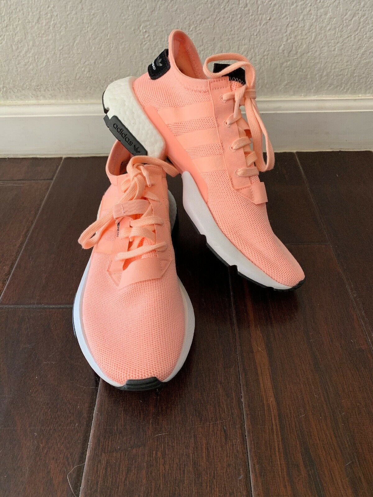 Adidas POD- S3.1 Sneaker, Mens, Size 9, orange