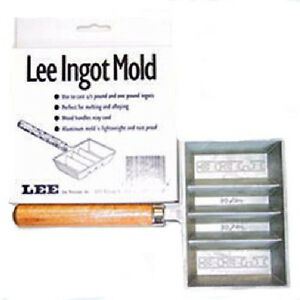 Aluminum Ingot Bar Mold Lead Melting Alloying Casting