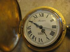 Antique Vintage Arnex Incabloc 17 Jewels Swiss Made Pocket Watch Working