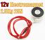 Robotics Arduino ESP32 ESP8266 Pi Electromagnet Magnet 12V 2.5kg lift 25N