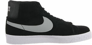 Nike SB Blazer Premium SE in Black/White/Base Grey NWT 631042-003