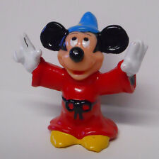 VINTAGE! 1980's Disney Sorcerer's Apprentice Mickey Mouse PVC Figure Cake Topper