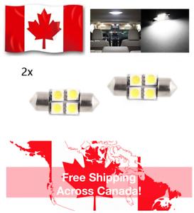 2-PCS-DE3022-DE3175-31MM-4-SMD-HIGH-POWER-LED-FESTOON-WHITE