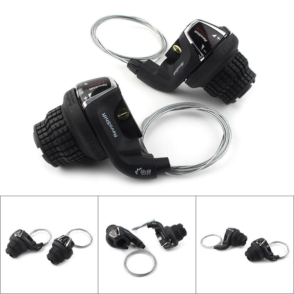 3//7//21 Speed Black Shimano RevoShift SL-RS35 Twist Grip Shifter