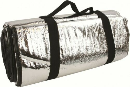 Highlander Thermo Survival Blanket Thick Padded Reflective Sheet Retain BodyHeat