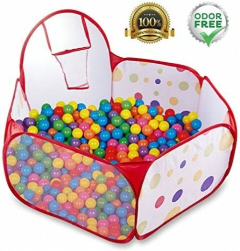 Kids And Toddlers Ball Pit Ball Tent Pop Up Outdoor And Indoor Ball Pool With
