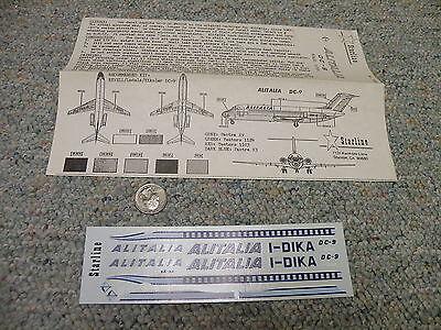 Revell  Lodela Kikoler  decals 1//120 H-246 DC-9 Air Canada instructions sheet