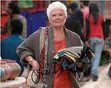 "Judi Dench - Colour 10""x 8"" Signed Marigold Hotel Photo (Landscape) - UACC RD223"