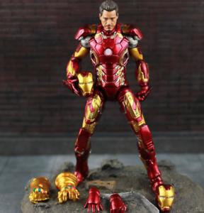 "6/"" Marvel Avengers Iron Man Mk43 Mark Xliii Armor Model Action Figure Toy Gift"