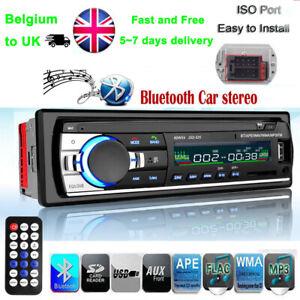 Bluetooth-Car-Radio-Stereo-Head-Unit-Player-In-dash-MP3-USB-SD-AUX-FM-Non-CD