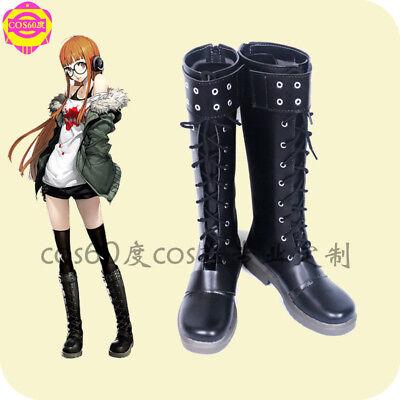 New Persona 5 Futaba Sakura Cosplay Boots Shoes Shoes