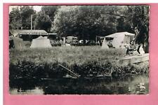 CPSM -  BOUSSY SAINT ANTOINE - 91 -  LE PETIT CABANON - CAMPING - PECHE  -   N°2