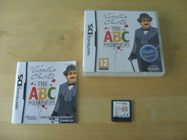Nintendo  DS Game - Agatha Christie - THE ABC MURDERS *12+*   *FREE UK P&P*