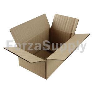 "25 5x3x2 ""EcoSwift"" Brand Cardboard Box Packing Mailing Shipping Corrugated"