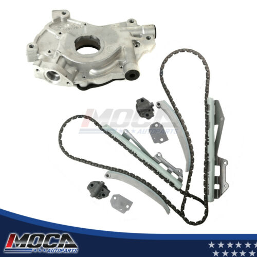 Timing Chain+Oil Pump w//o Gears Kits Fit 97-04 Ford Mustang Explorer E150 F150