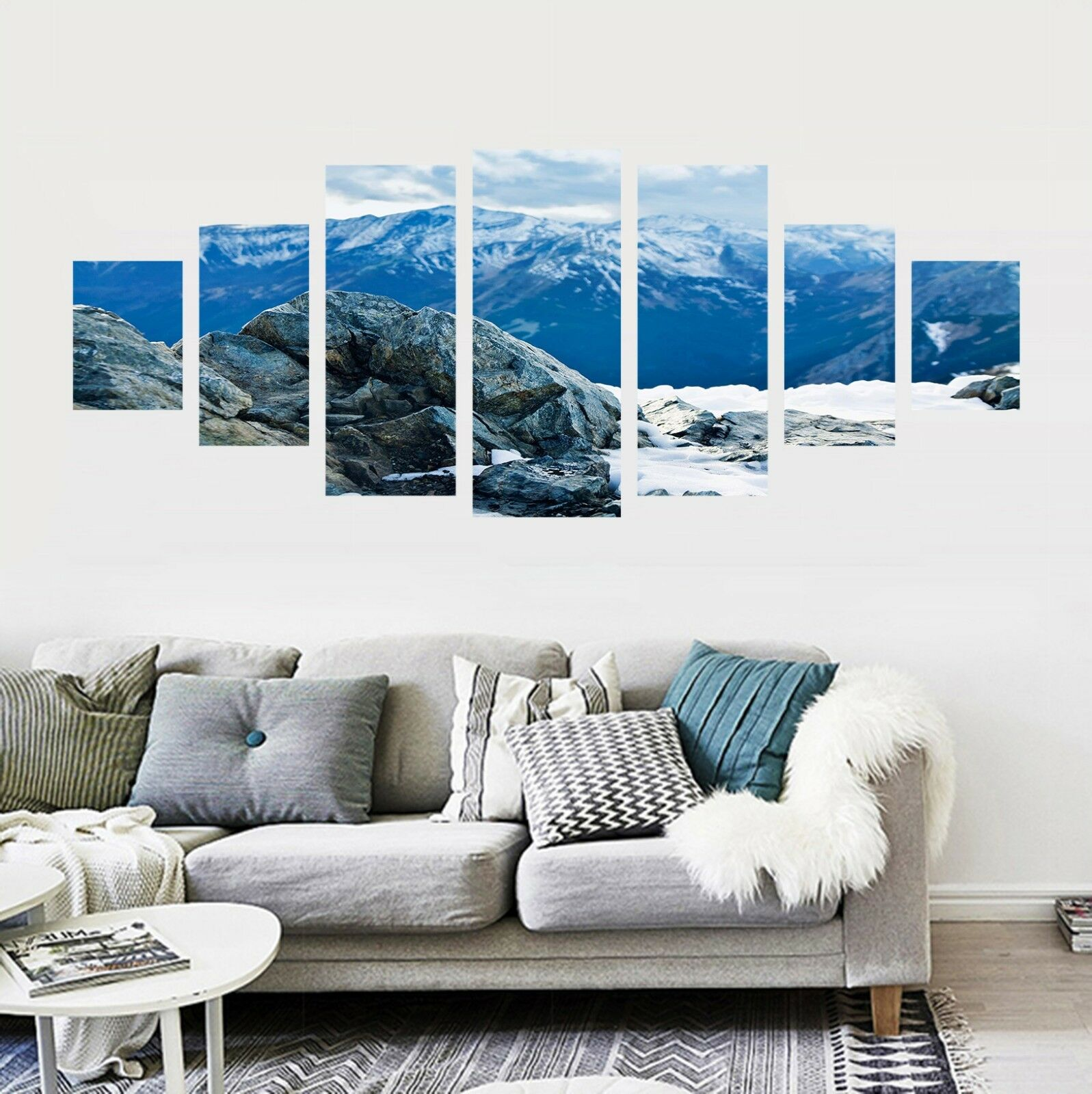 3D Mount View 74 Unframed Print Wall Paper Decal Wall Deco Indoor AJ Jenny