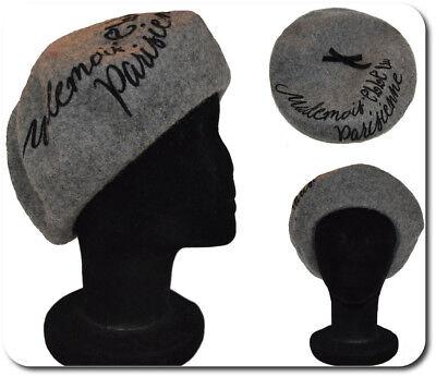 Ausdauernd Luxus Beret Baske Baskenmütze Wollmütze Mütze Cap Hut Paris Woll Beanie Grau GroßEr Ausverkauf