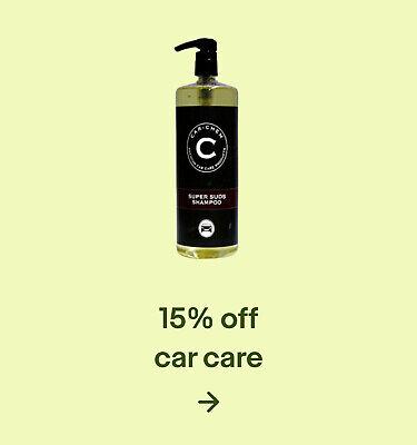 15% off car care