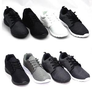 Détails sur Pour Hommes Femmes Mode Léger Chaussures Noir Gris Blanc Neuf Tailles Couleur