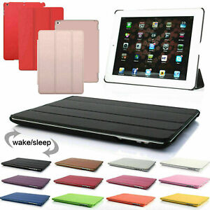 """Smart Magnetic Leather Stand Case Cover For iPad 2/3/4 9.7"""" Old model"""