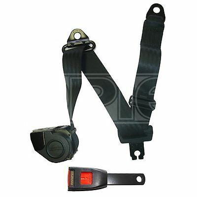 Seat Belt Auto Lap And Diagonal Blk 507S//W Securon Genuine Quality Replacement