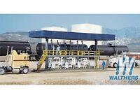 Waltherscornerstone 933-3169 Ho Scale Tanker Truck Loading Rack Building Kit on Sale