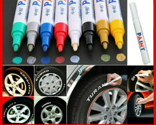 12Pcs Waterproof Permanent Paint Marker Pen Colorful